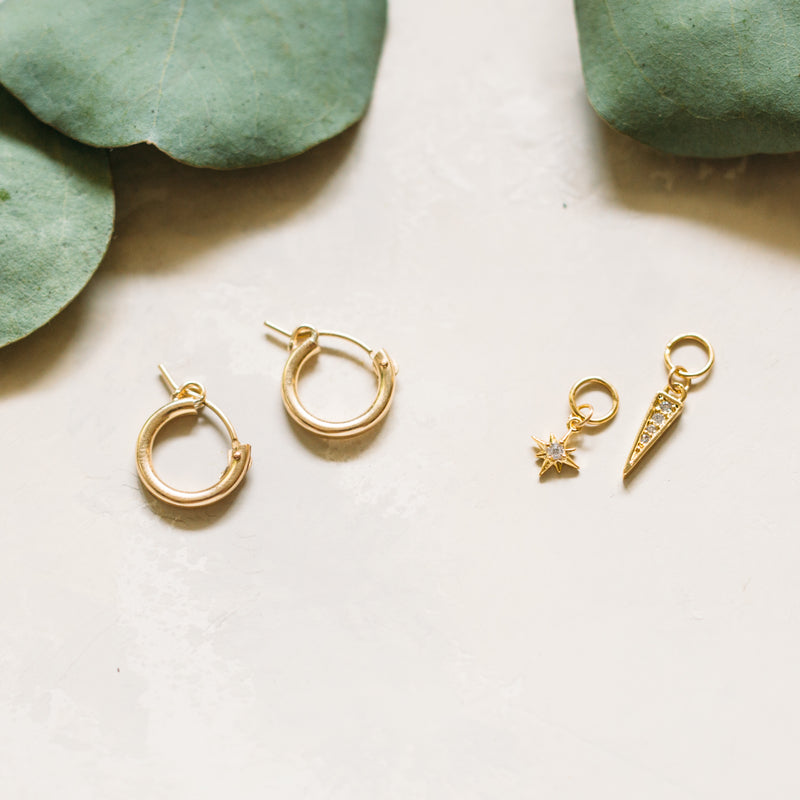 Design Your Own Hoop Earrings with Charms