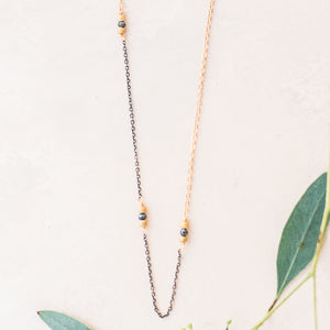 Perfect Layering Necklace With Toggle Clasp