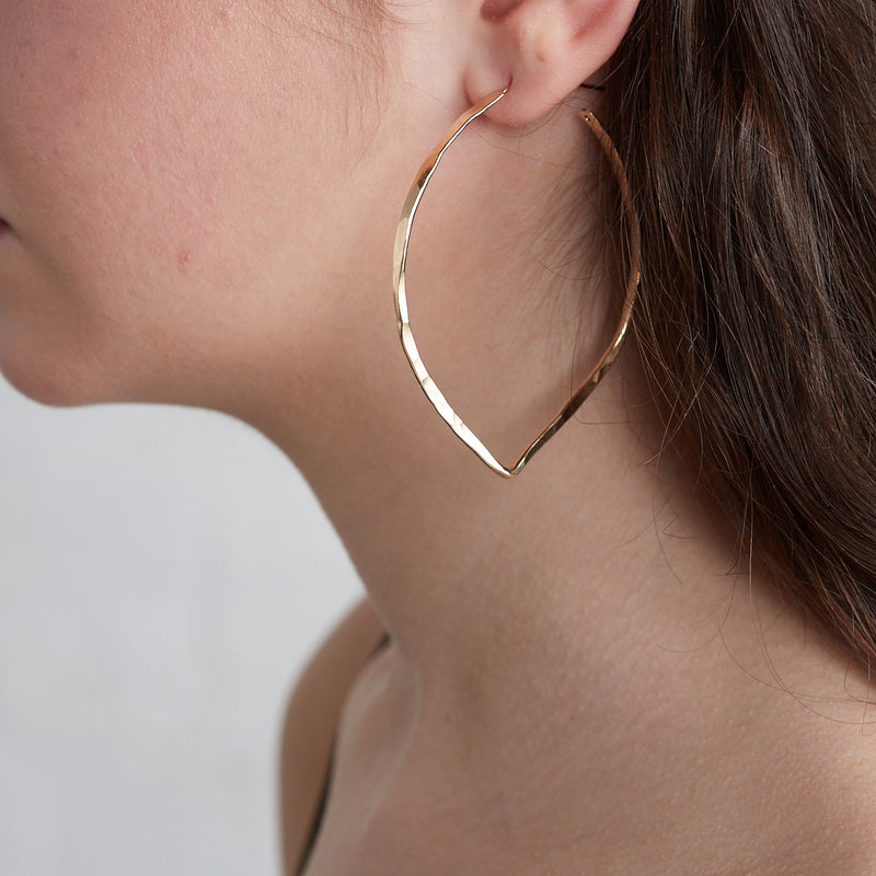 80's Rocker - Flame Hoops