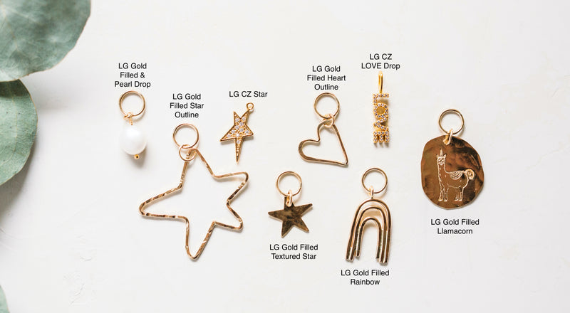 Large Individual Charms  - Chains Sold Separately