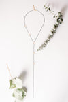 Big Dipper Lariat Drop Necklace