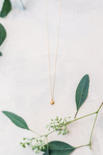 CZ Small Chubby Sun Necklace