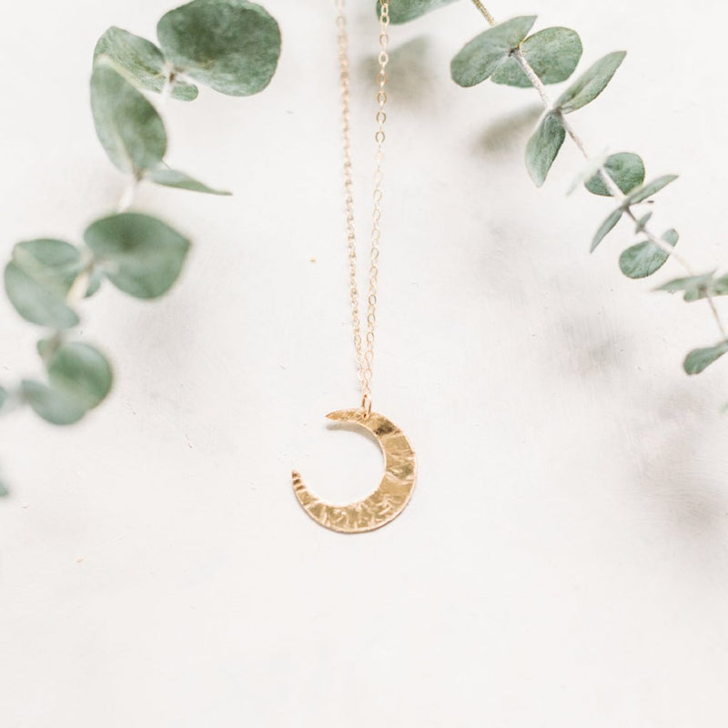 Lunette Crescent Moon Necklace