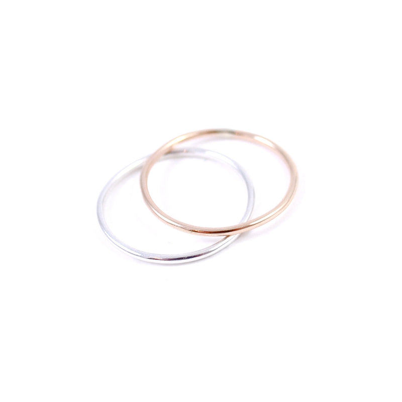 You and Me Stacking Rings