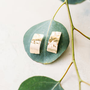 Paper Hammered Bar Studs