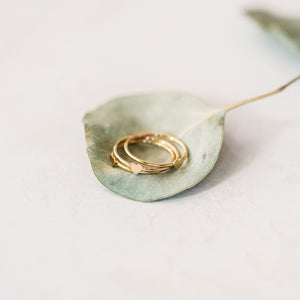 Sweet Lil' Heart Stacking Ring