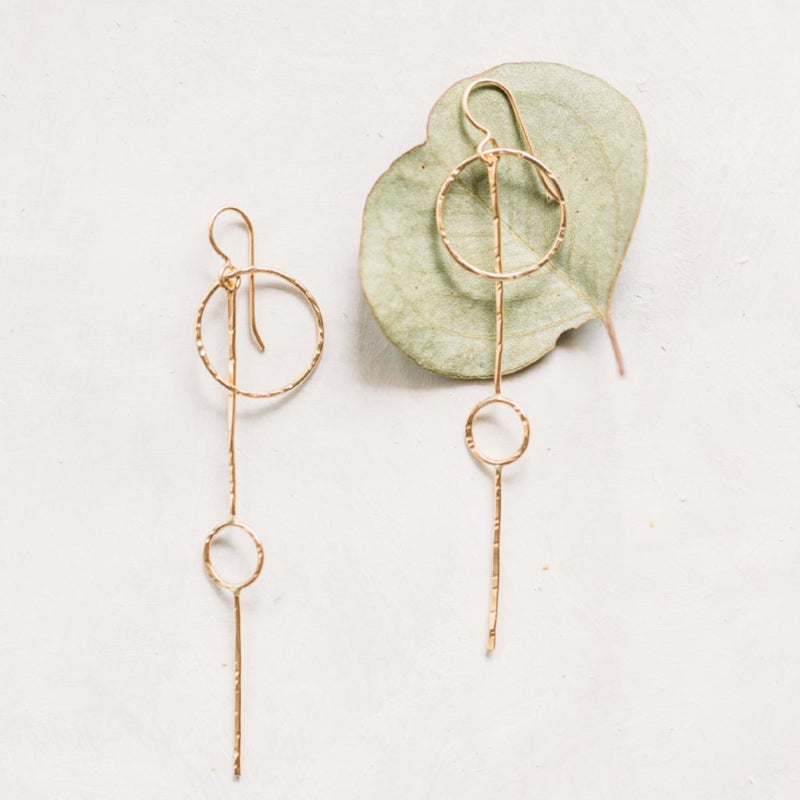 Metronome Earrings