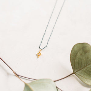 North Star CZ Necklace
