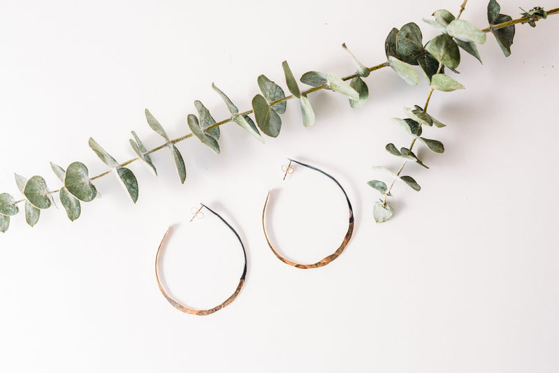 Not Your Ordinary Hoops - Gold and Black