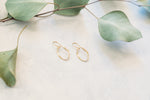 Oval Drop Earrings - Small, Medium, Large & X-Large