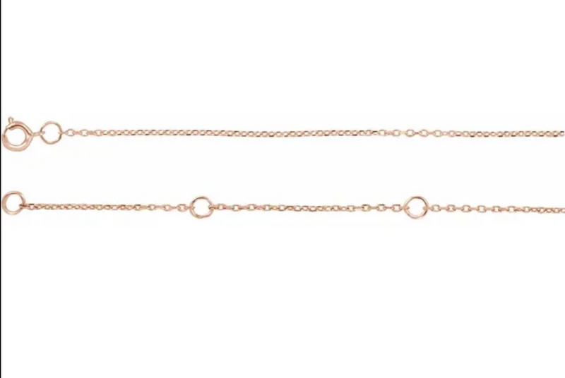 Just The Chain - Dainty Sweet Chain in Gold and Silver