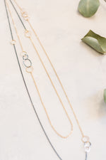 Time After Time Long Layering Necklace