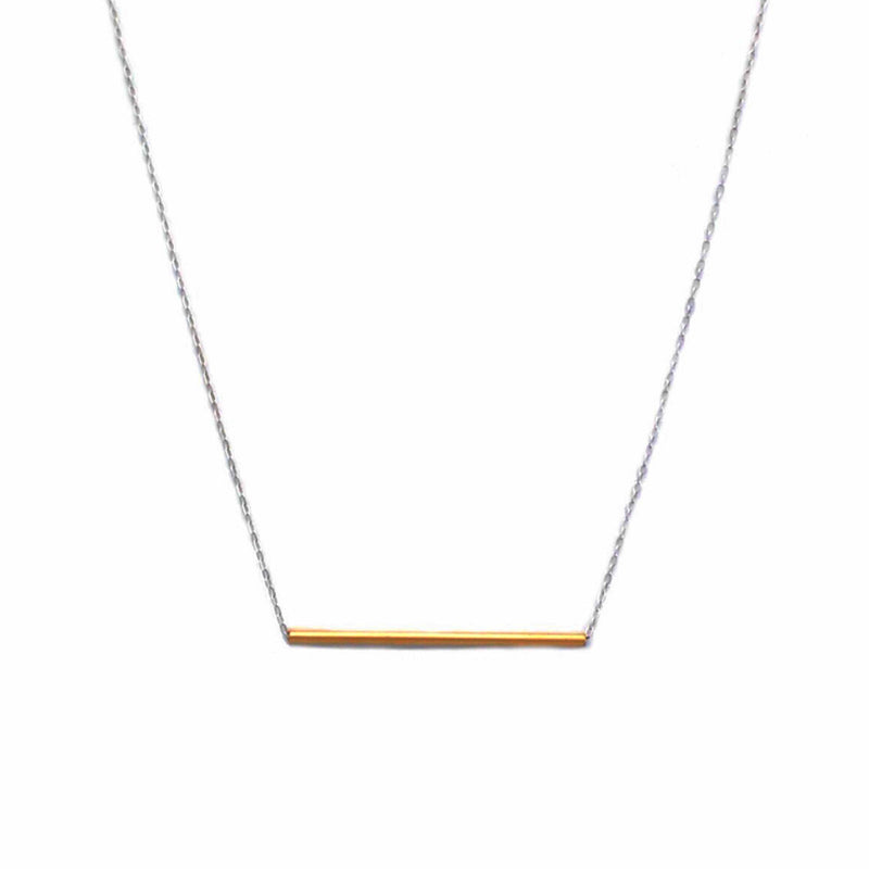 Balance Necklace in 14k Gold Filled and Sterling Silver