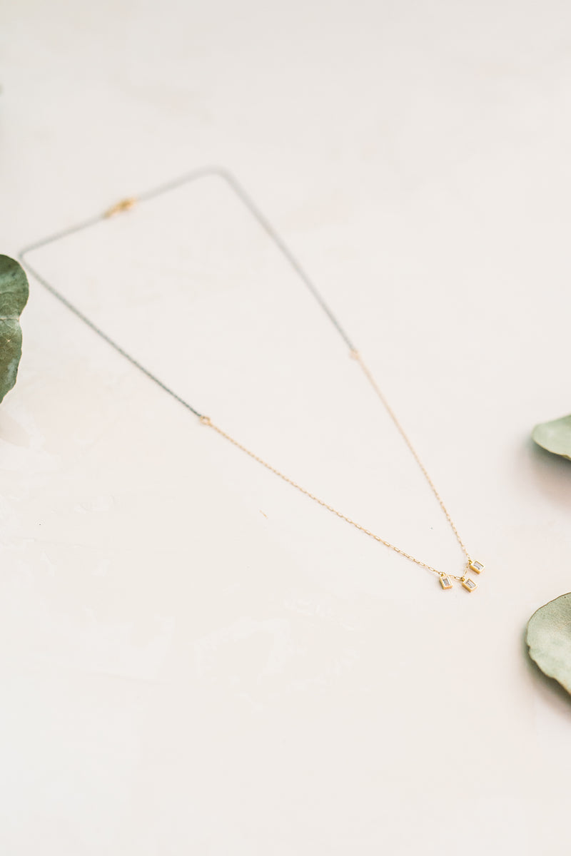 Truly, Madly, Deeply Dainty CZ Necklace