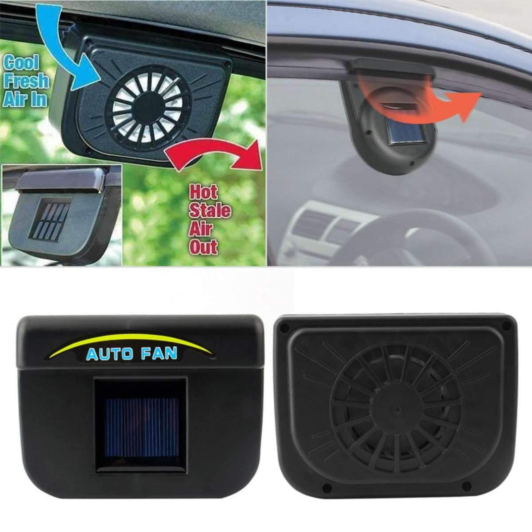 Car Cooler Solar Powered Ventilation