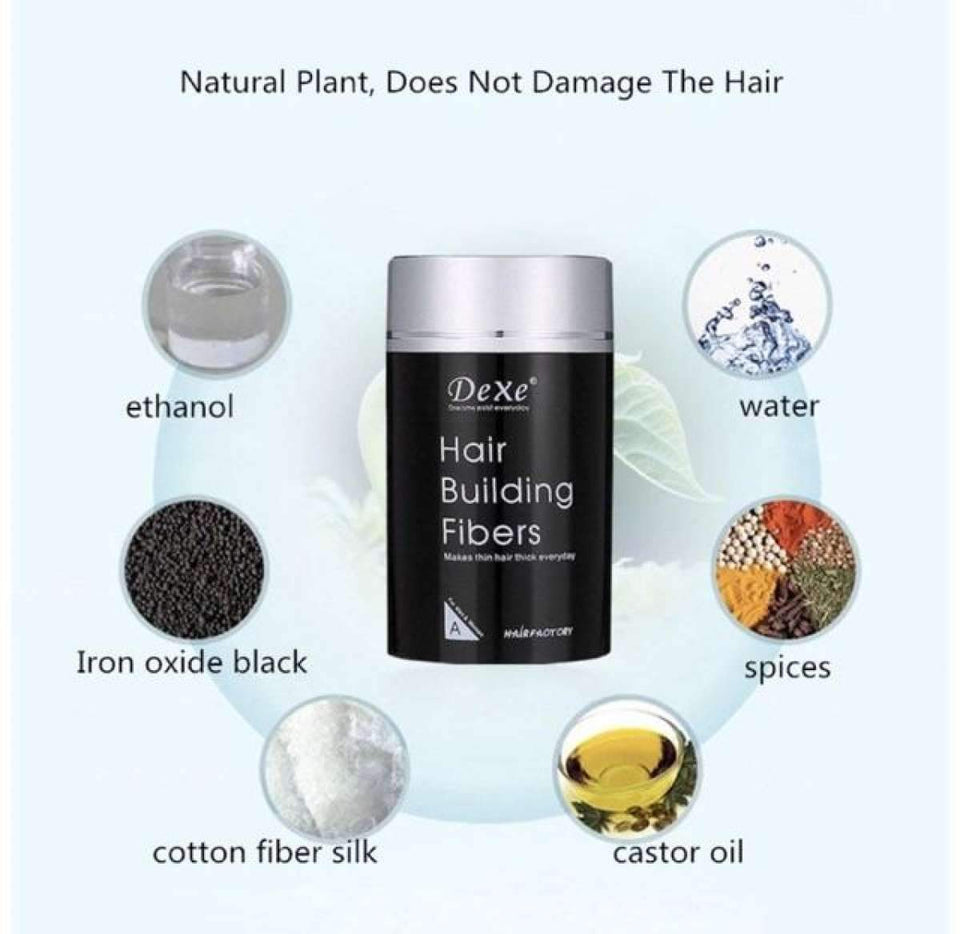 Hair Building Fibers Keratin Powder