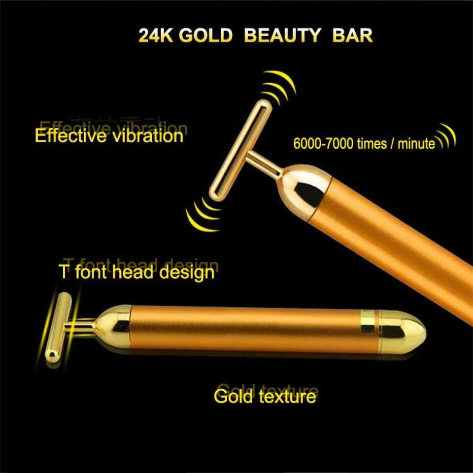 24k Gold Slimming & Anti Wrinkle Face Stick