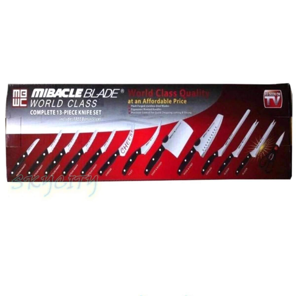 Miracle Blade World Class 13-Piece Knife Set