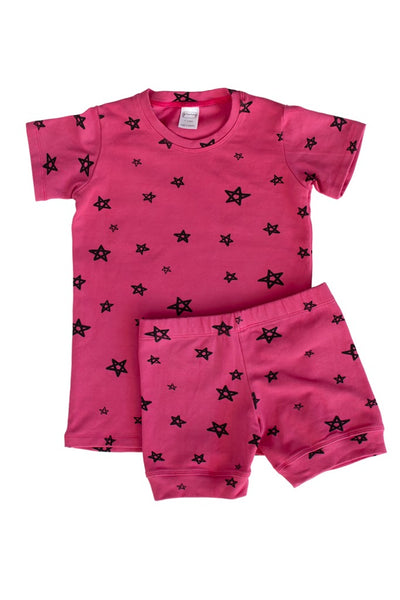 Bougainvillea Star Shortie PJ Set