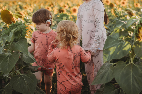 Papaya 'Sunflower' Longsleeve Romper