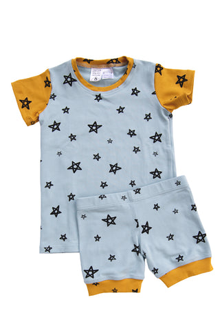 Powder Star Patchwork Shortie PJ Set