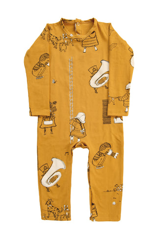Honey 'When I Grow Up' Longsleeve Romper