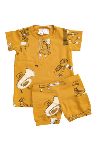 Honey 'When I Grow Up' Shortie PJ Set