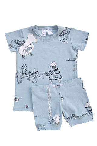 Powder 'When I Grow Up' Shortie PJ Set
