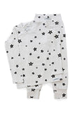 White Star Long PJ Set