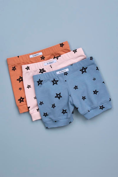 THE BASICS Rusty Star Shortie PJ Set