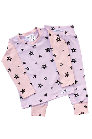 Monet Star Patchwork Long PJ Set