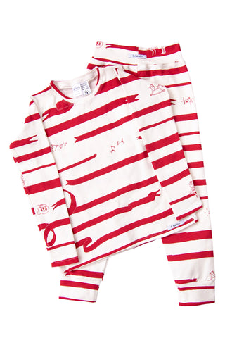 Limited Edition 'Nutcracker Vanilla' Long PJ Set