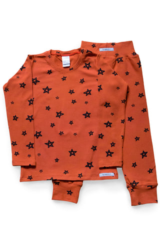 Yolk Star Long PJ Set