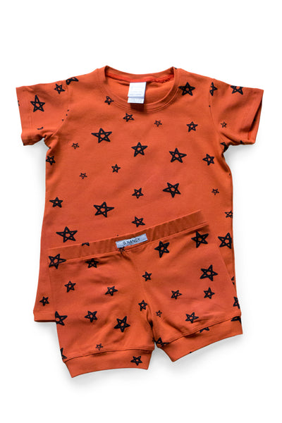 Yolk Star Shortie PJ Set