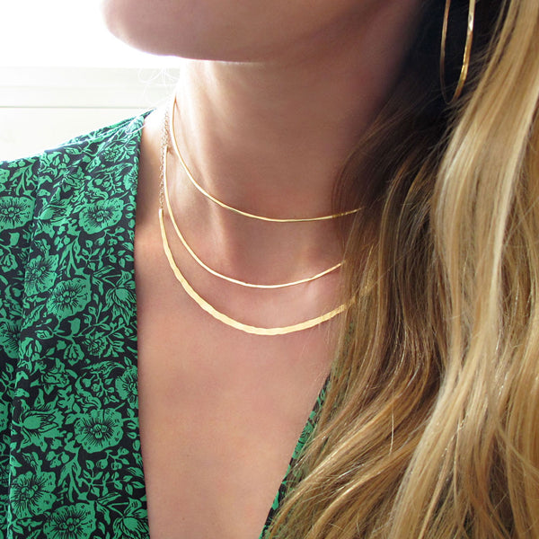 How To : Layer Necklaces of the Same Length
