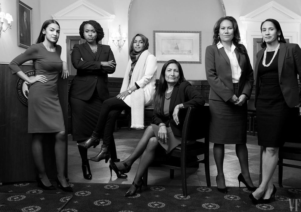 freshmen congresswomen of color