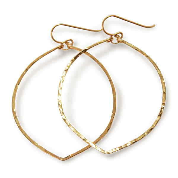 Fig Hoop Earrings