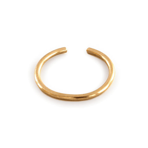 gold cartilage hoop