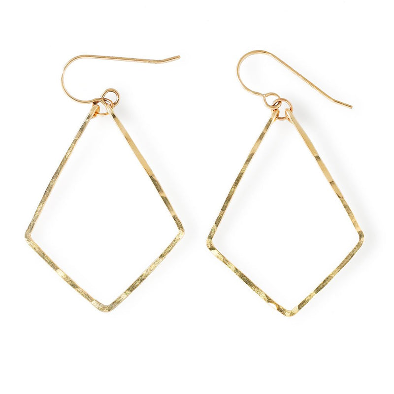 four corner earrings by delia langan jewelry