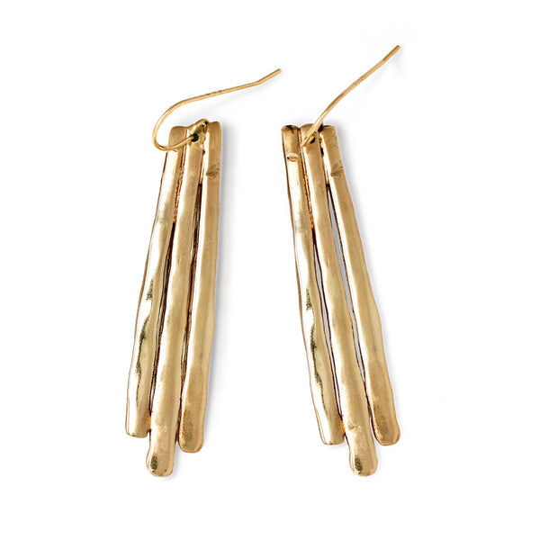 long fringe drop earrings on white background by tahastaffingsolutions