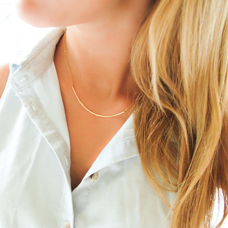 scenic route necklace by delia langan jewelry
