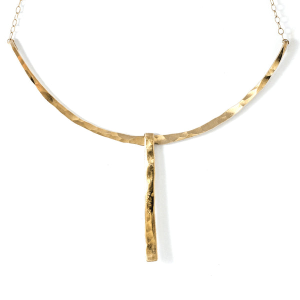 Wingspan Arc Necklace