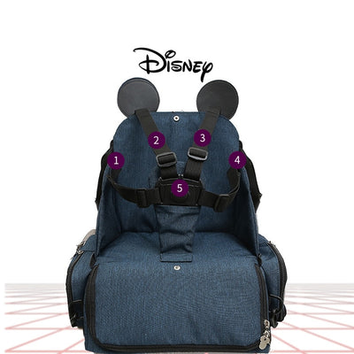 Multi-functional Diaper Bag and Booster Dining Seat