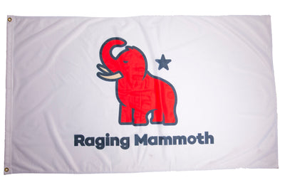 Raging Mammoth Flags