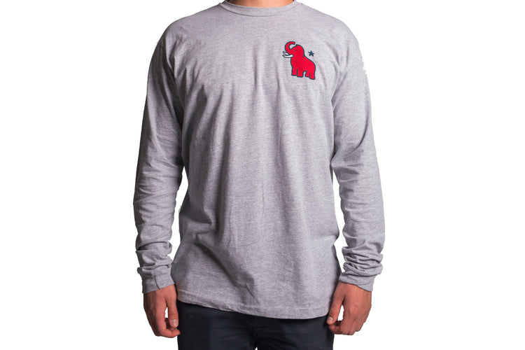 Original Mammoth Grey Long Sleeve
