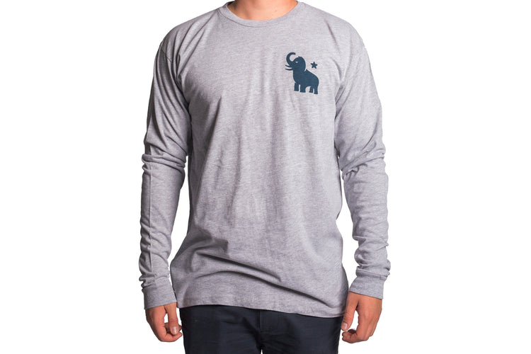 Blue Mammoth Long Sleeve