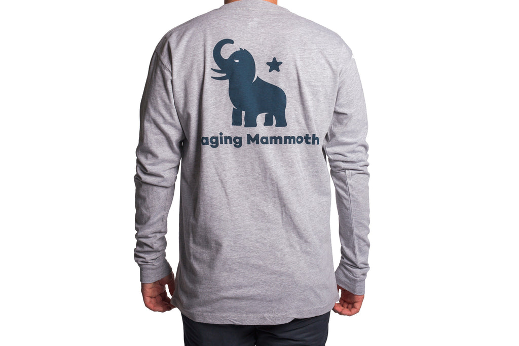 Blue Mammoth/Grey Long Sleeve