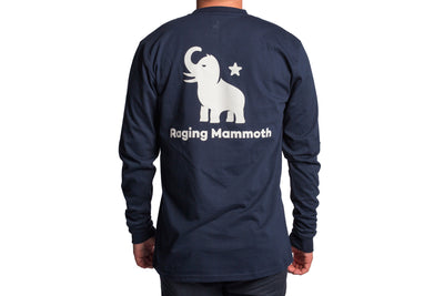 White Mammoth Long Sleeve