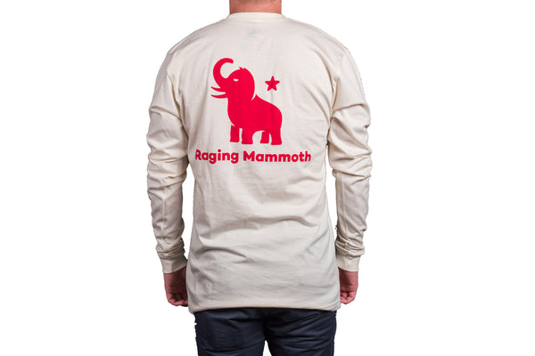 Red Mammoth/Creme Long Sleeve