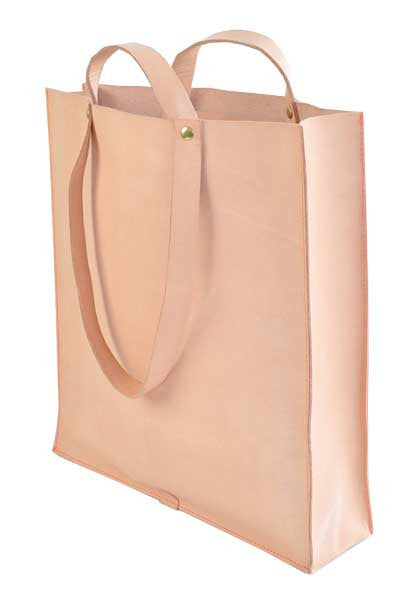 Box Tote, Long Short Handles